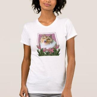 T-shirt Jour de mères - Sheltie - Mandy