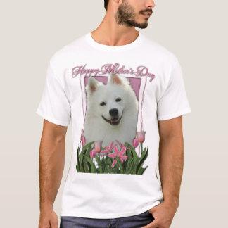 T-shirt Jour de mères - tulipes roses - Esquimau américain