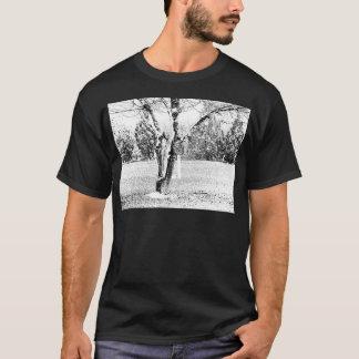 T-shirt Jour de Milou avec des arbres