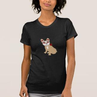 T-shirt Jour du Frenchie crème mort