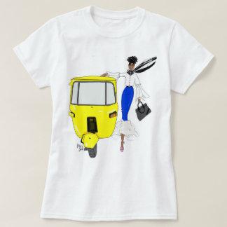 T-shirt jours d'été, Afrique
