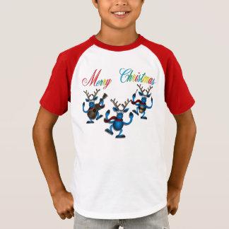 """T-shirt """"Joyeux Noël 3 rennes """""""