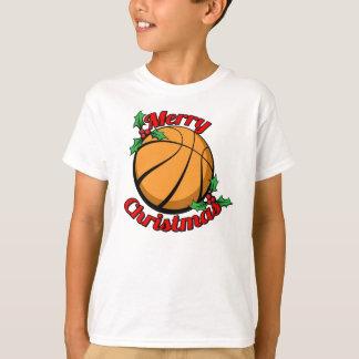 T-shirt Joyeux Noël de base-ball