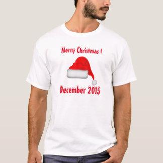T-shirt Joyeux Noël - décembre 2015
