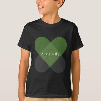 T-shirt Joyeux Noël - vert