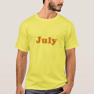 T-shirt Juillet