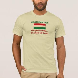 T-shirt Jumeau hongrois beau