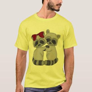 T-shirt Jumeaux de raton laveur
