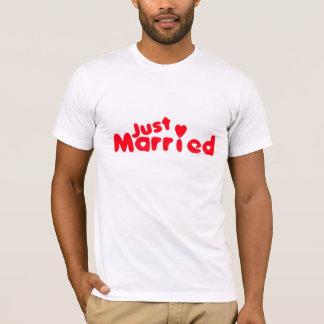T-shirt Juste chemise de ménages mariés