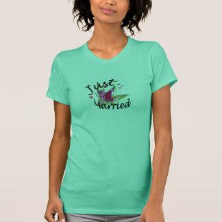 """T-shirt """"Juste"""" chemise florale mariée"""