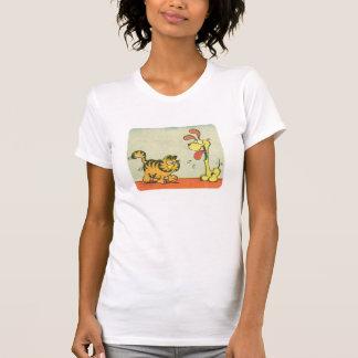 T-shirt Juste marchant par, la chemise des femmes
