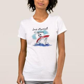 T-shirt Juste marié ! 2007