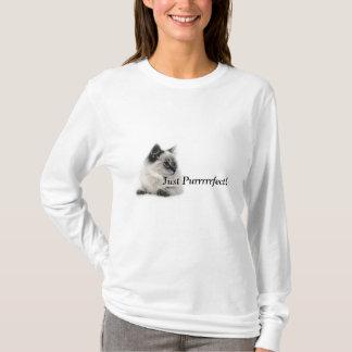 T-shirt Juste Purrrrrfect !