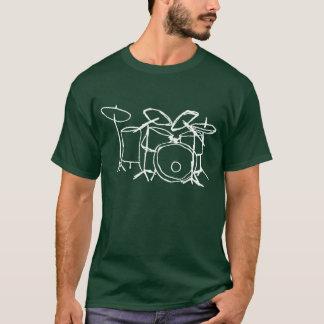 T-shirt Juste tambours pour l'obscurité