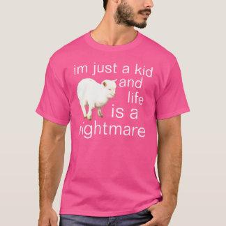 T-shirt juste un enfant