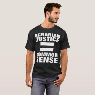 T-SHIRT JUSTICE AGRAIRE = BON SENS