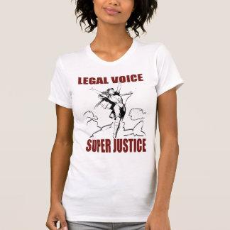T-shirt justice superbe