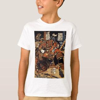 T-shirt Kagehisa et Yoshitada luttant Utagawa Kuniyoshi