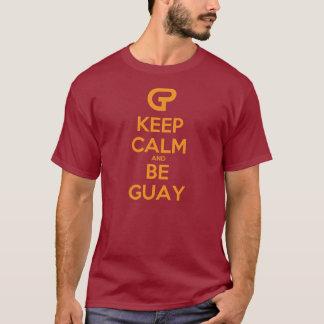 T-shirt keep calm and il voit super