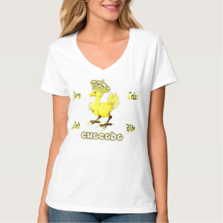 T-shirt Keep calm and ride Chocobo