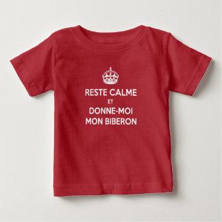 T-Shirt Keep Calm Biberon Français