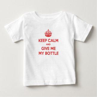 T-shirt Keep Calm Bottle English