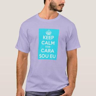 T-shirt keep calm ce visage je suis