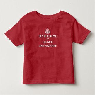 T-shirt Keep Calm Geschiedenis Fransman