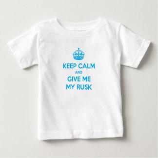 T-shirt Keep Calm Rusk English
