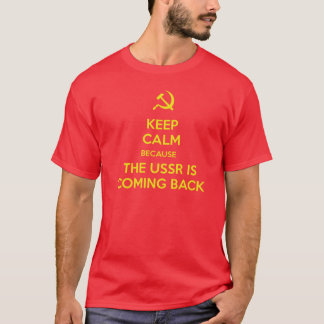 T-shirt Keep calm USSR