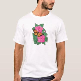 T-shirt Ketmie et papillon