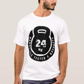 T-shirt Kettlebell : Hardstyle a examiné et 24kg approuvé