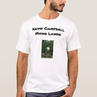 T-shirt Kevin Campbell fauche des pelouses