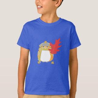 T-shirt Kevin et une feuille géante