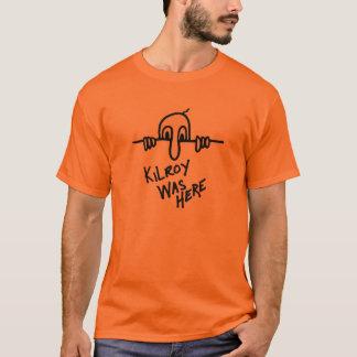 T-shirt Kilroy était ici pièce en t