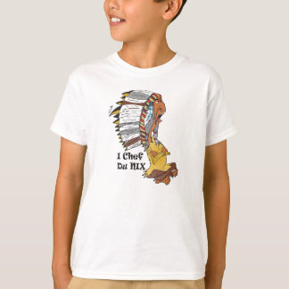 T-shirt Kindershirt motif :  Chef de tribu d'Indien