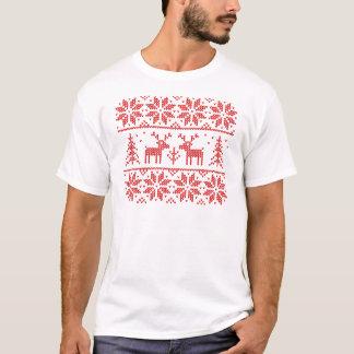T-shirt Knit avec des cerfs communs