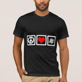 T-shirt Knit d'amour de paix