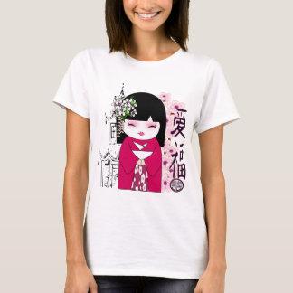 T-shirt Kokeshi, poupée japonaise, こけし