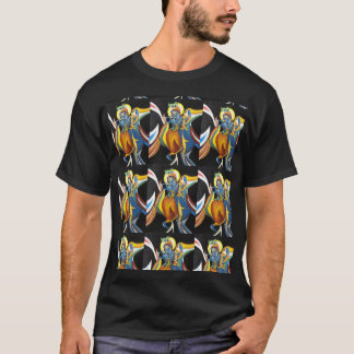 T-shirt krishna de radhe