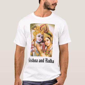 T-shirt Krishna et Radha, Krishna et Radha
