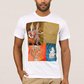 T-shirt krishna indien de lièvres de ganesh de dieux de