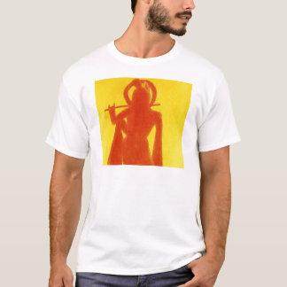 T-shirt Krishna jaune
