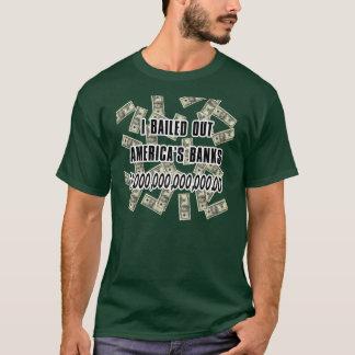 T-shirt La banque sautent en parachute