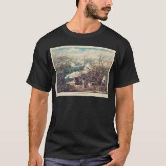 T-shirt La bataille américaine de guerre civile du pois