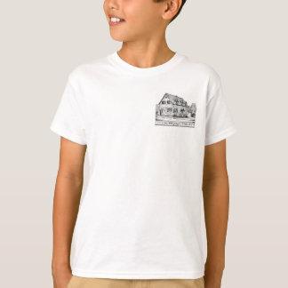 "T-shirt La bibliothèque du garçon ""libre, amusement,"""