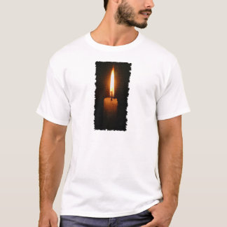 T-shirt La bougie brûlante