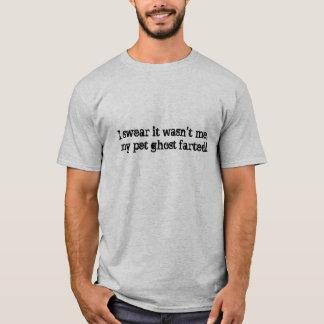 T-shirt La Caroline paranormale - fantôme d'animal