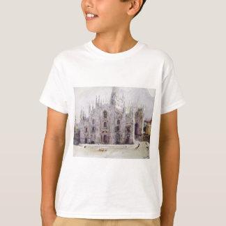 T-shirt La cathédrale de Milan par Vasily Surikov
