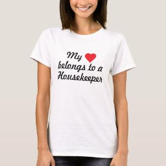 T-shirt La Chambre appartient à une femme de charge